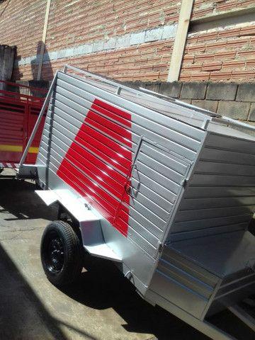 Vendo carrocinha reboque  - Foto 5