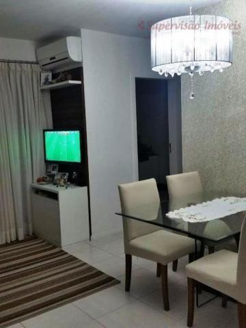 Apartamento residencial à venda, Roçado, São José. - Foto 8