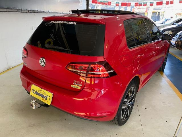 Vw - Volkswagen Golf Tsi Highline + Teto - Foto 4