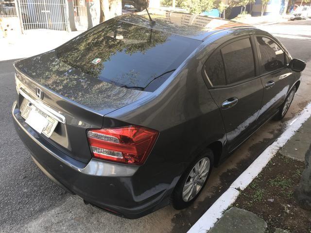 City automático 2014 zerado revisado nunca batido ipva pago - Foto 7
