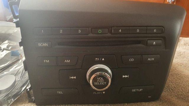 Radio Honda Civic original novo