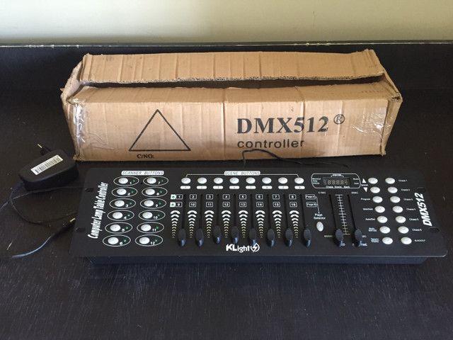 Vendo mesa dmx 512 e case - Foto 3