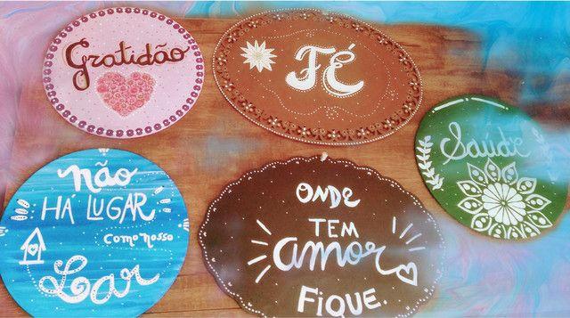 Placas Decorativas- Lettering