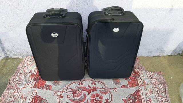 Mala de viagens média 2 unidades