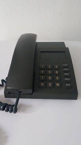 Telefone Fixo com fio Siemens E411 - Excelente