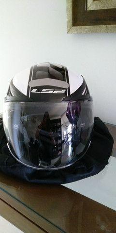 Vende capacete número 38