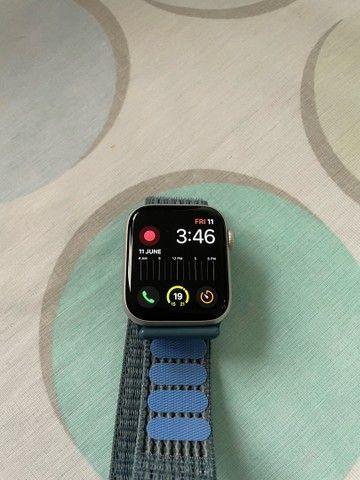 Apple Watch SE 44mm prata - Foto 3