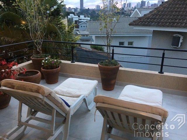 Casa de condomínio à venda com 4 dormitórios em Oficinas, Ponta grossa cod:393415.001 - Foto 4