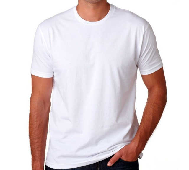 camisa branca poliester