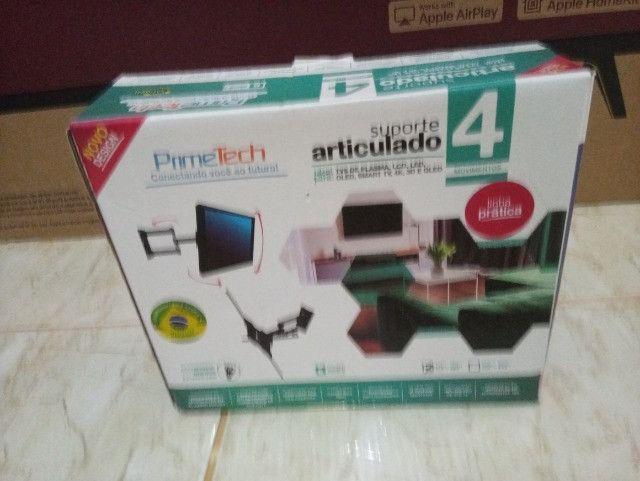 Suporte articulado PrimeTech para tv até 45 kg - Foto 2