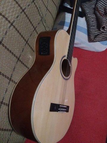 Violão Giannini elétrico usado - Foto 3