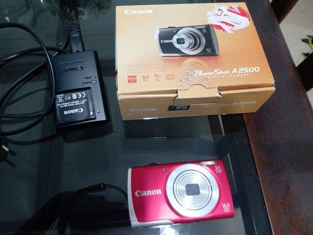Máquina Fotográfica. Canon A 2500 16 MP. Nova. - Foto 3