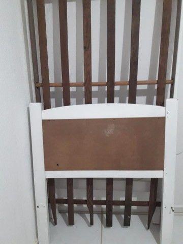 Cama solteiro madeira  - Foto 3