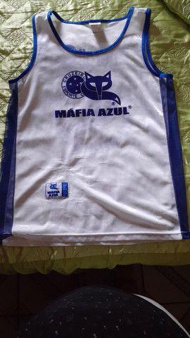 3 (três) camisas de torcida da Máfia Azul, tamanho GG - Foto 3