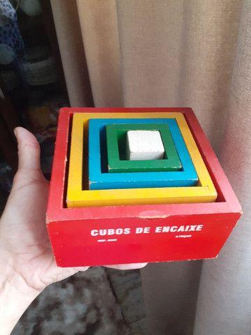 4 Brinquedos Pedagógicos de madeira - Foto 5