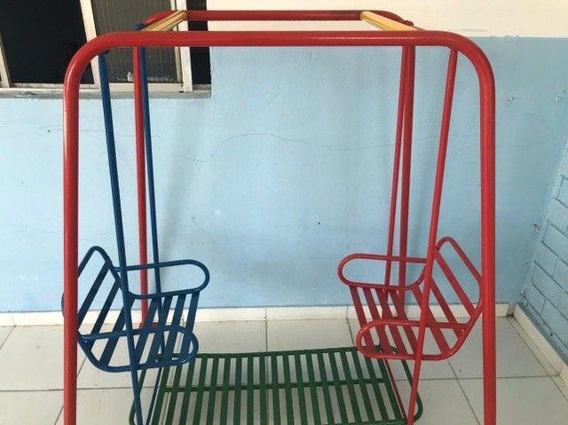 Parquinho de Ferro, Ideal para escolas, creches e hotelzinho - Foto 2