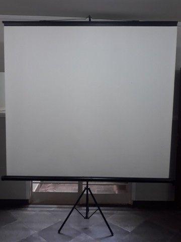 Telão de projeção de imagem 110pol - Foto 4