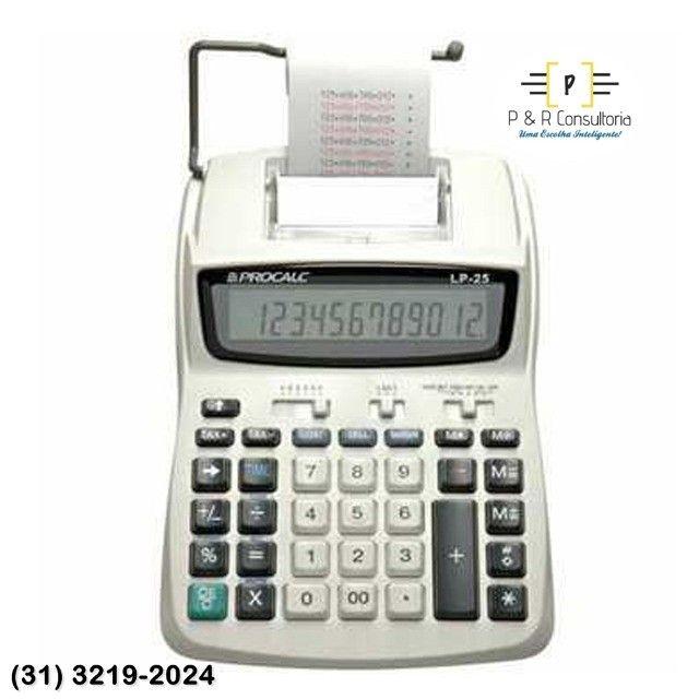 Calculadora de Impressão e Bobina LP25. - Foto 2