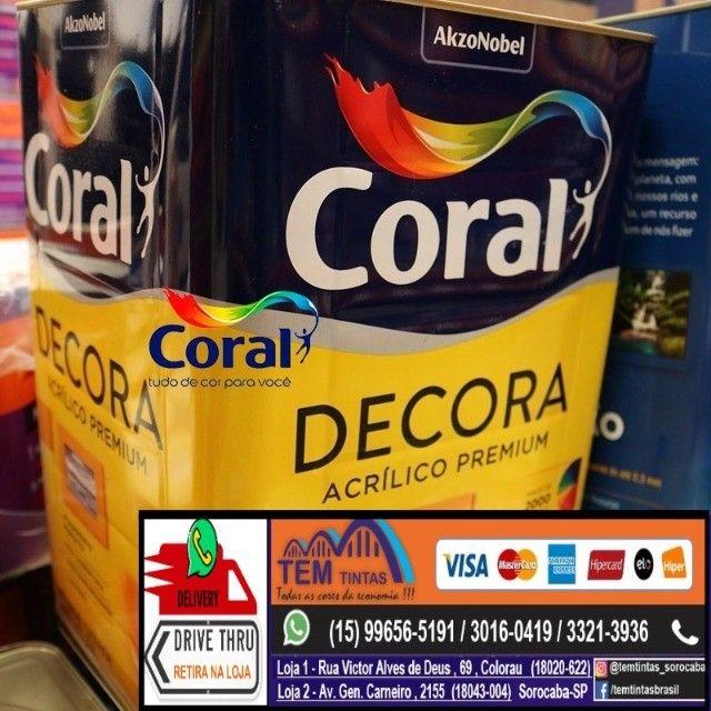 §Encontre Tintas Para Parede Coral Promocao