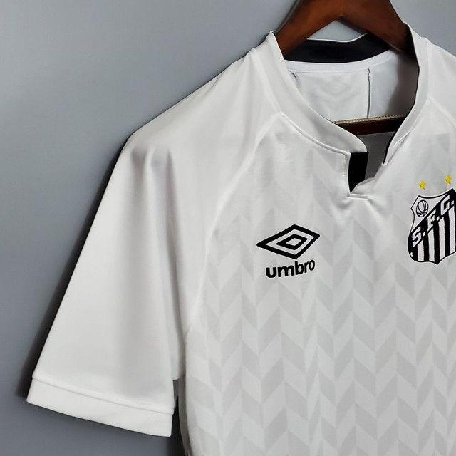 Camisa do Santos branca - Foto 3