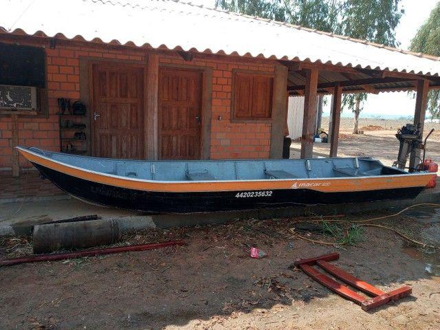 Barco e motor - Foto 5