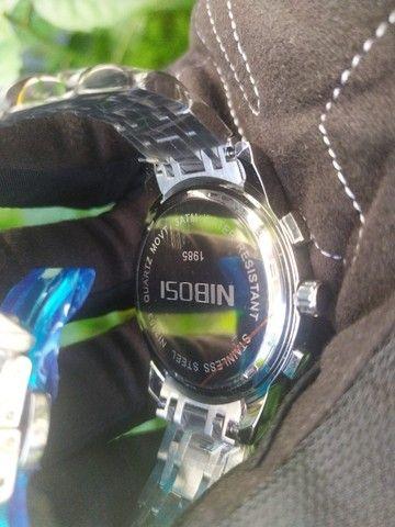 Relógio Masculino NiBOSi Luxo - Foto 6