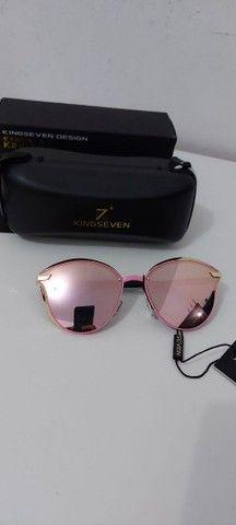 Óculos de sol com lentes polarizados novo - Foto 3