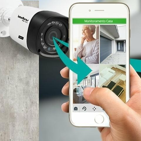 Câmeras De Segurança Kit completo 4cameras - Foto 3