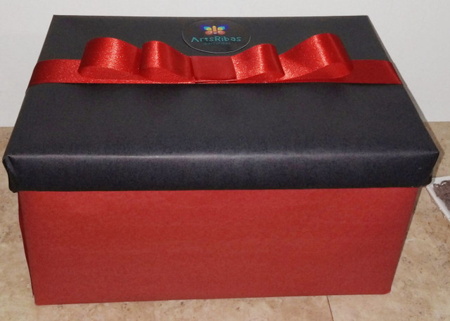 Caixa surpresa / festa na caixa/ caixa explosão  - Foto 2