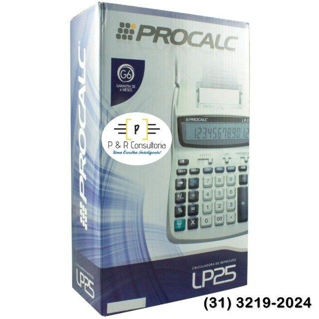 Calculadora de Impressão e Bobina LP25. - Foto 5