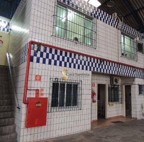 Excelente Galpão 1500m² com pé Direito 6m Escritório Entrada de Caminhão na Vila Mathias - Foto 5