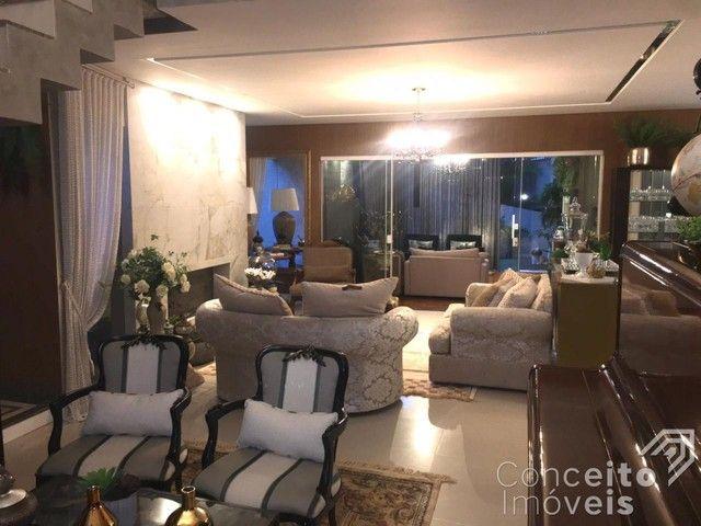 Casa de condomínio à venda com 4 dormitórios em Oficinas, Ponta grossa cod:393415.001 - Foto 18