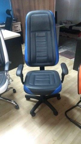 cadeira estilo gamer varias cores - Foto 2