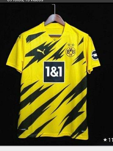 Camiseta de time manchester united promoção - Foto 2