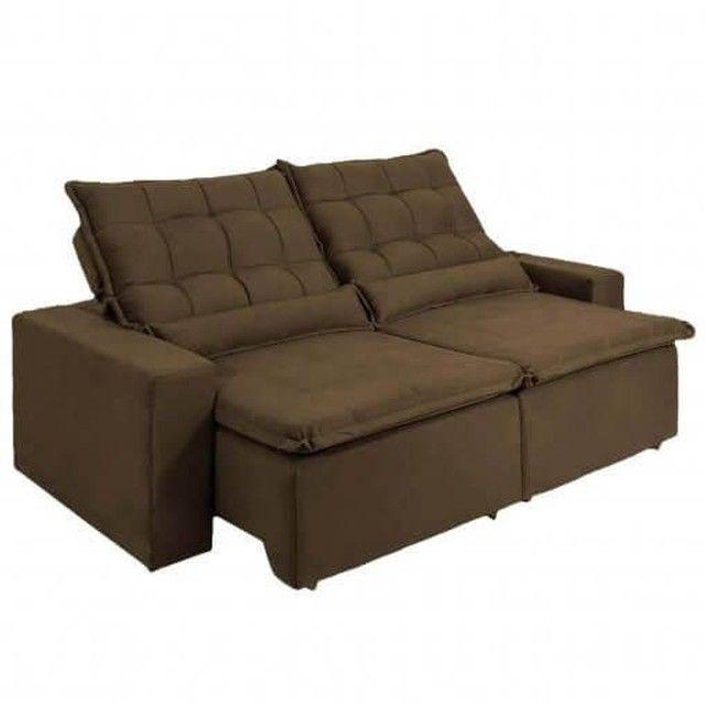Lindo sofá retrátil - Foto 3