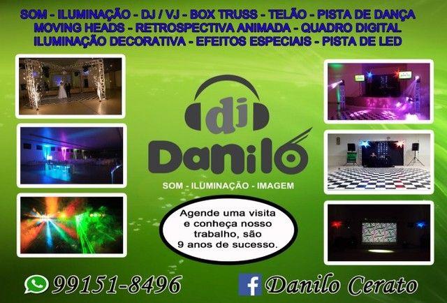 DJ, Som luz e telão em limeira S.P - Foto 2