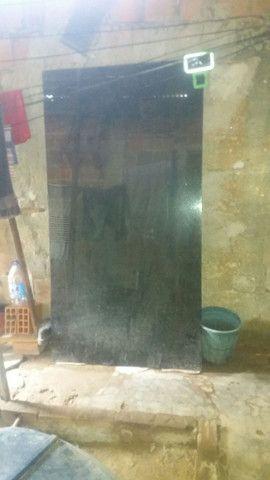 Tampao de vidro medindo 100 190