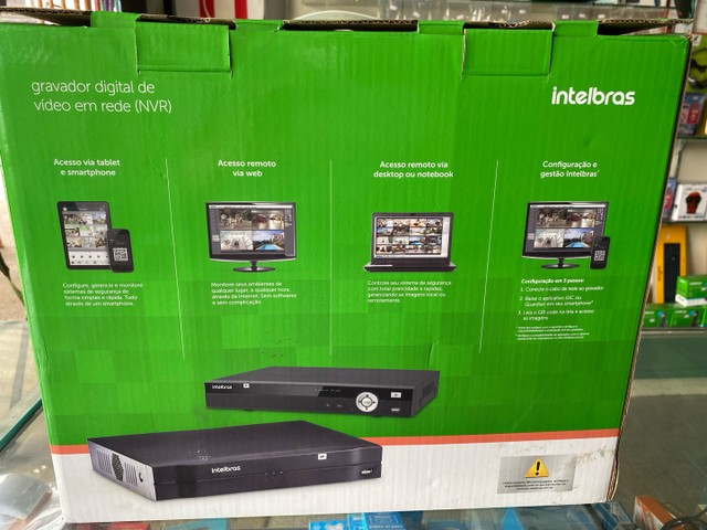Gravador Digital NVD 1232 Intelbras - Foto 3