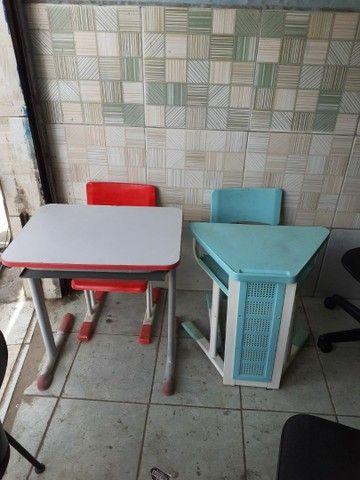 Compramos vendemos consertamos móveis de Escritórios escolares Seminovos - Foto 3