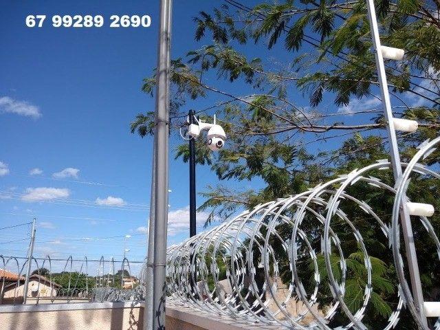 camera sem fio wifi controle pelo celular instalada - Foto 4