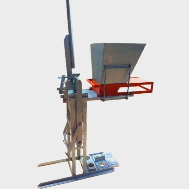 Prensa de tijolos manual - Foto 2