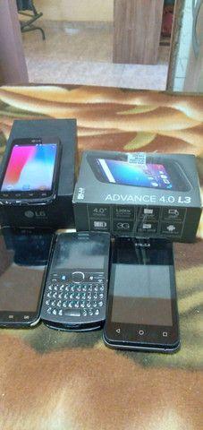 Vendo 3 celulares (Negociável)