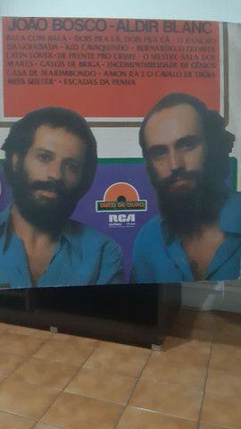 Disco de Vinil João Bosco e Aldir Blanc - R$ 20,00