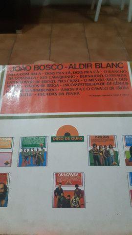 Disco de Vinil João Bosco e Aldir Blanc - R$ 20,00 - Foto 2