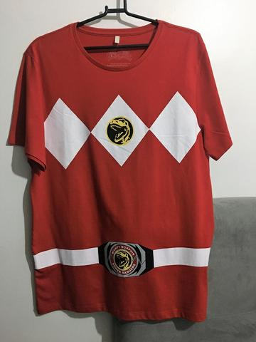 Camiseta Power Ranger - Red Ranger Tam. M