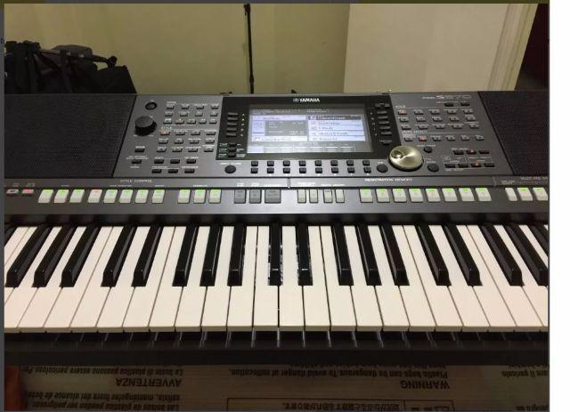 yamaha psr s970 instrumentos musicais cj res m jacinto. Black Bedroom Furniture Sets. Home Design Ideas