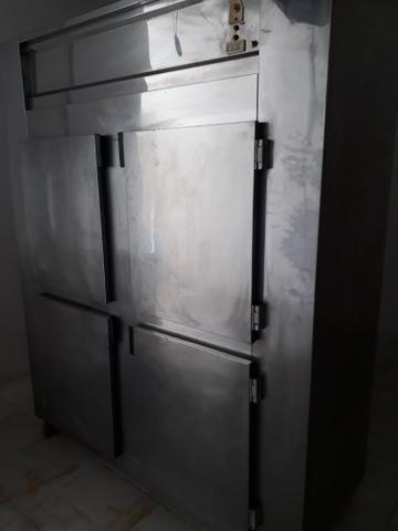 Geladeira 4 portas inox