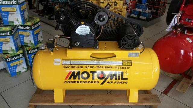 Compressor Air Power Trifásico 0 Pés 5,0 HP motomil