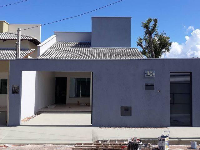 Casa Nova Individual Em Palmas-To Financia 3 Quartos Alto Padrão