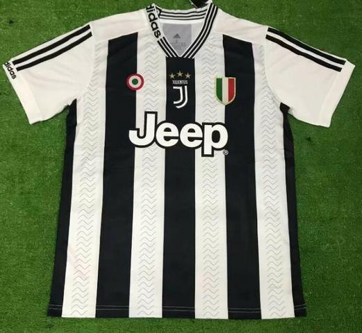 42ee2447e Camisa Juventus Cristiano Ronaldo Milan Inter de Milão Roma 2018 2019